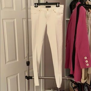 Juicy couture white jeans